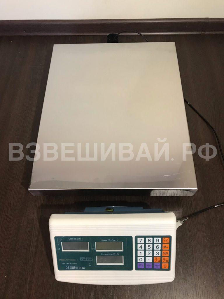 весы платформенные без стойки на проводе ST-TCS-100 взвешивай.рф