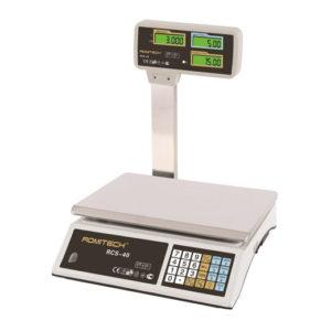 Весы торговые Romitech RCS-40 со стойкой