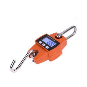 Фото бытовых подвесных весов с минимумом функций на алкалиновых батарейках