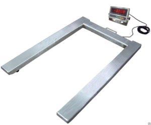Фото П-образных весов для склада